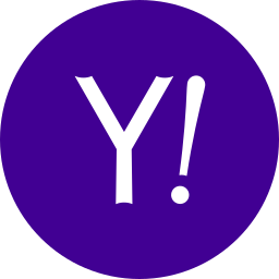 circle, round icon, yahoo icon