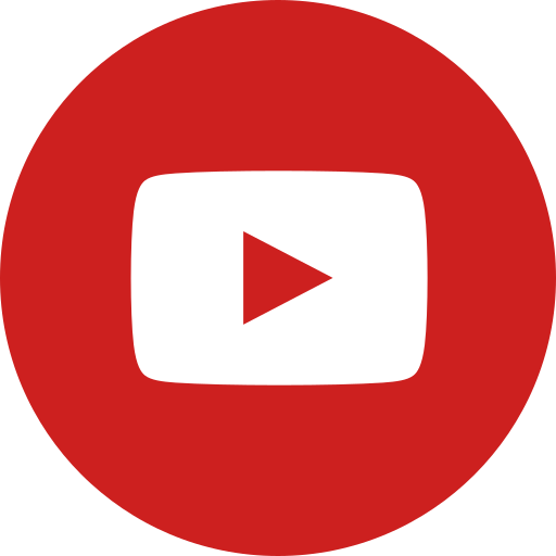 circle, round icon, video, youtube icon