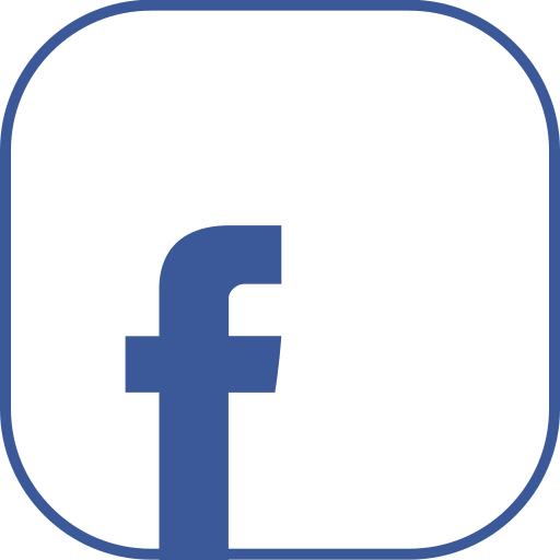 facebook, line icon