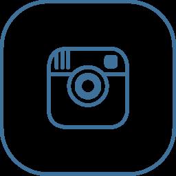 instagram, line icon