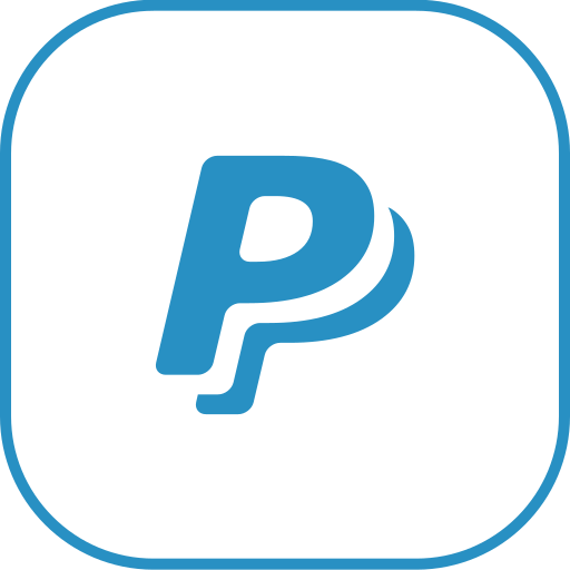 line, paypal icon