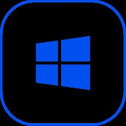 line, windows icon