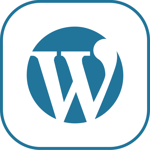 line, wordpress icon