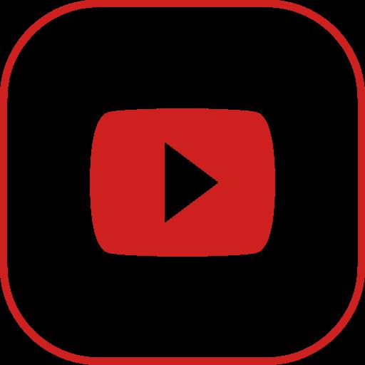 line, youtube icon