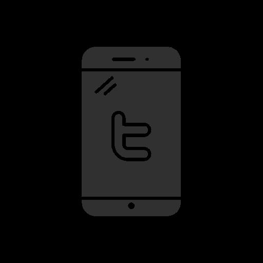logo, mobile, twitter logo, website icon