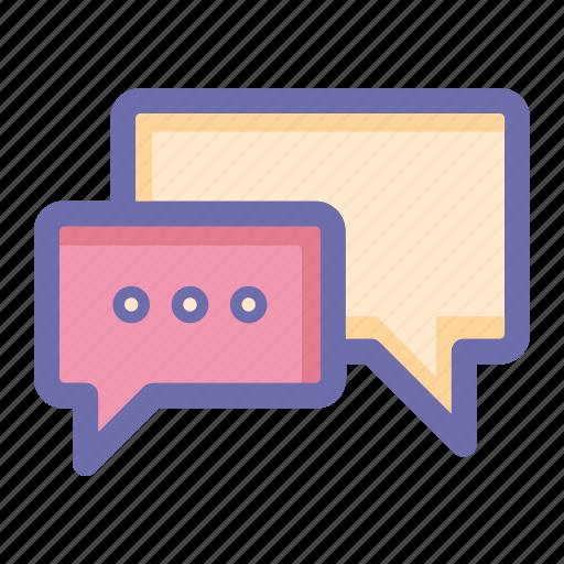 chat, online, social market, web, web page icon