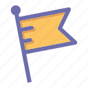 flag, online, social market, web, web page icon