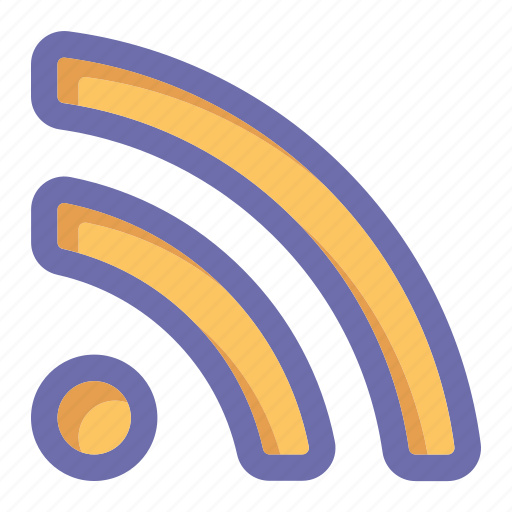 online, rss, social market, web, web page icon