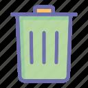 online, social market, trash, web, web page icon