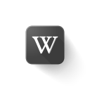 logo, wikipedia icon