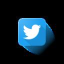 logo, twitter icon