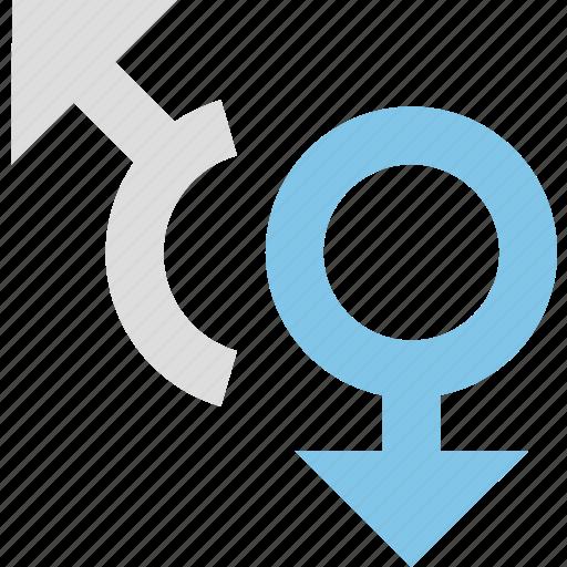 gender, men, women icon