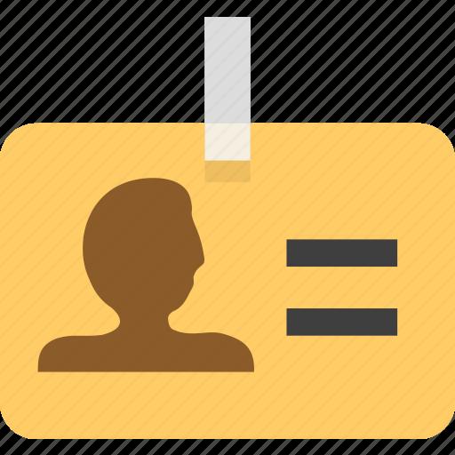 identity, identity card icon
