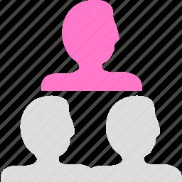 customers, group, peoples, studio, team, users icon