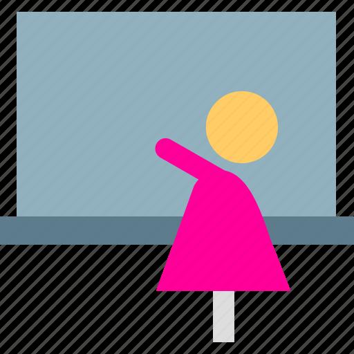 teacher, tutorial icon