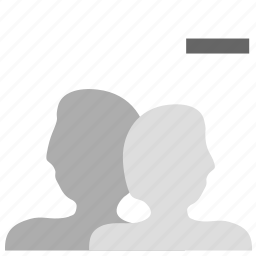 account, customers, group, peoples, users icon