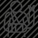arm, broken, patients, positive, sickness icon
