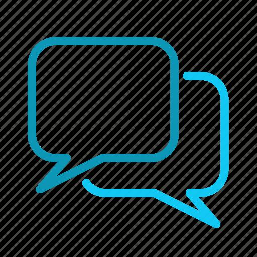 bubbles, dialog, speech icon