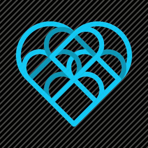 empathy, hearts, love, understanding icon