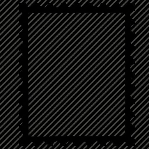 frame, letter, post, postage, postcard, postmark, sent letter icon