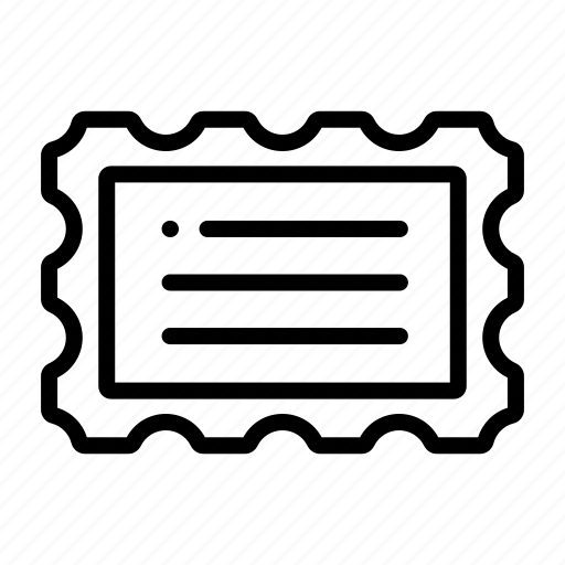 delivery, letter, mail, postage, postal, postcard, stamp icon