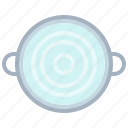 boil, cook, cooking, kitchen, pot, water, yumminky icon