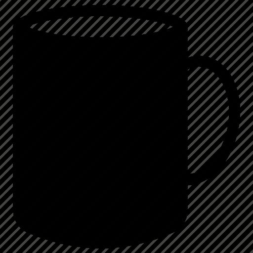 beverage mug, ceramic mug, coffee mug, mug, tea mug icon
