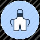 apron, potter, uniform, work icon
