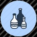 ceramics, clay, pottery, vases icon