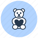 bear, clay, kids, pottery icon
