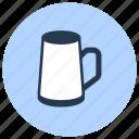 beer, clay, mug, pottery icon