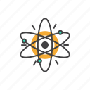 atom, chemistry, laboratory, molecule, science icon