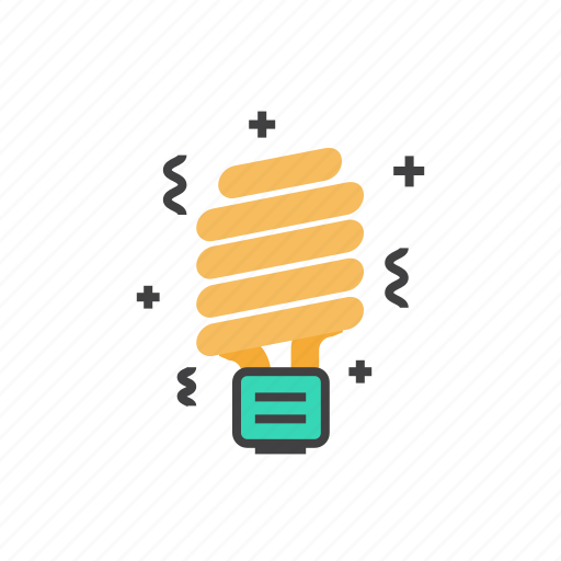 bulb, electricity, energy, led, light icon