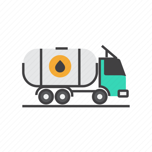 Delivery, oil, shipping, transport, transportation, truck icon - Download on Iconfinder
