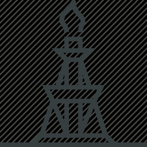 drilling, rig icon
