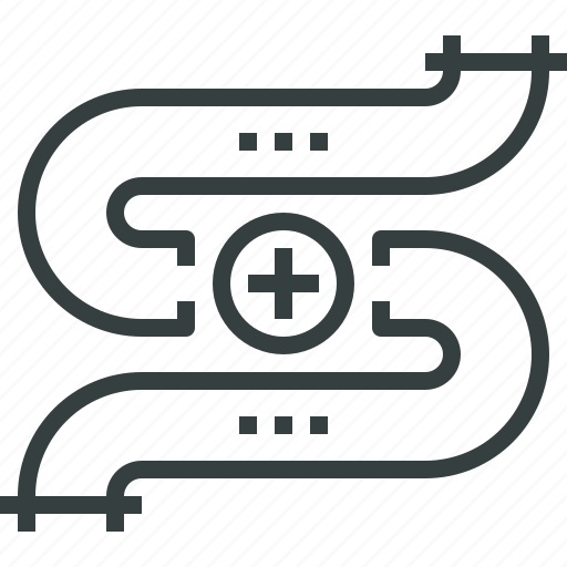gas, pipeline icon