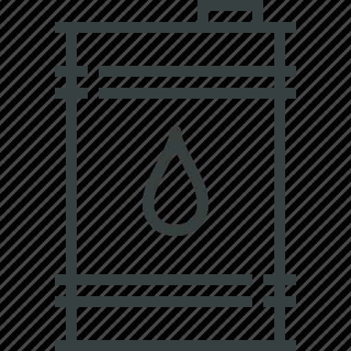 barrel, oil icon