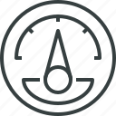 meter, pressure icon