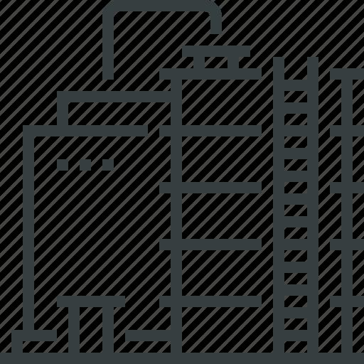 refinery, storage icon