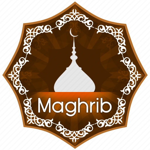 english, islam, maghrib, muslim, muslims worship, pray, prayer, the five daily prayers icon