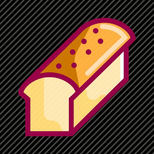 bakery, bread, cake, dessert, eat, food, restaurant icon
