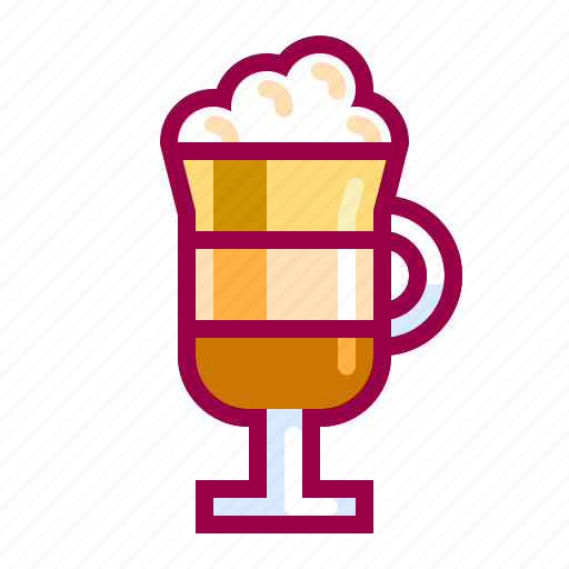 beverage, capuccino, coffee, drink, hot, nice, shop icon
