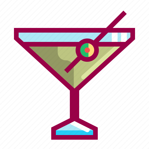 alcohol, beverage, cocktail, drink, food, margarita, martini icon