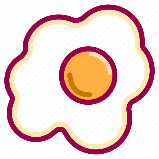 breakfast, cooking, eat, egg, food, gastronomy, meal icon