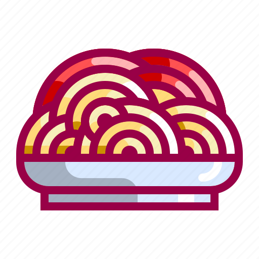 dish, food, italian, pasta, spaguetti, tasty icon