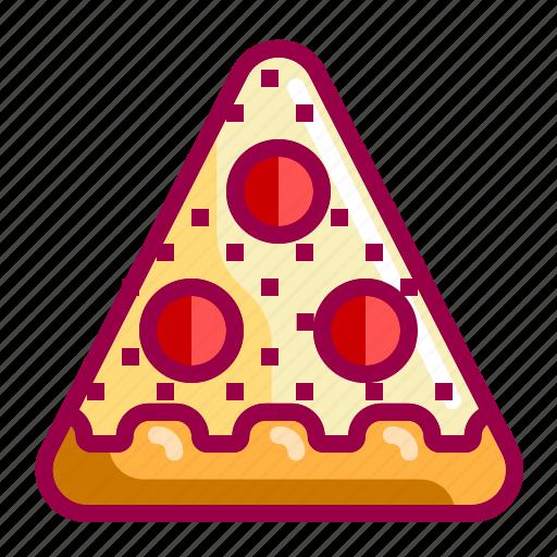 fastfood, food, italian, nice, pepperoni, pizza icon