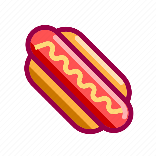 dog, eat, fastfood, hot, hotdog, nice, street icon