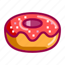 bread, candy, delicious, dessert, donnut, nice, seweet icon