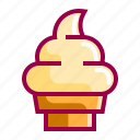 cold, cream, food, gelato, ice, icecream icon