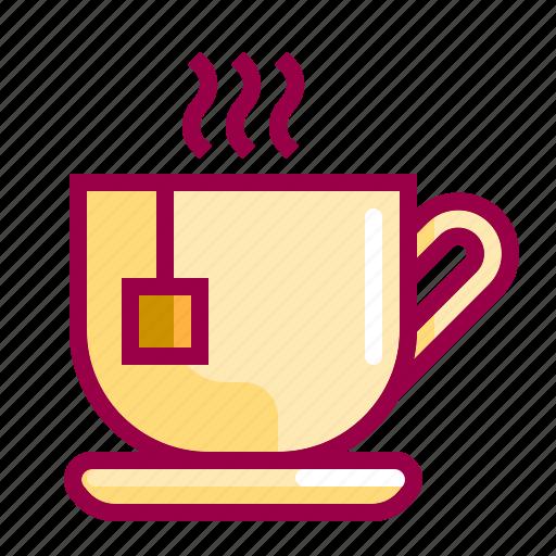 cup, drink, food, hot, tea, teas icon
